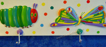 Very hungry caterpillar wallhook.