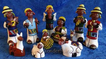 Aymara Nativity Set Bolivia