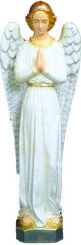 "Standing Angel for 36"" Color Outdoor Nativity Set"