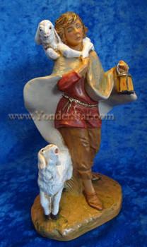 Shepherd Paul Fontanini nativity