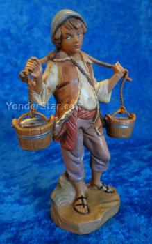 "Noah - 5"" Fontanini Nativity Villager w Water Buckets 52562"