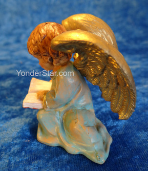 "Littlest Angel - 5"" Fontanini Nativity Angel Reading 54042"