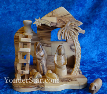 Olive Wood Nativity Creche from Palestine Fair Trade