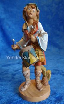 "Jareth - 5"" Fontanini Nativity Drummer Boy 55103"