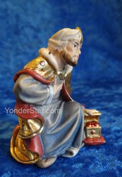 Wiseman Melchior LEPI Nazarene Wooden Nativity