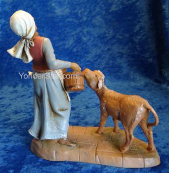 Fontanini nativity woman