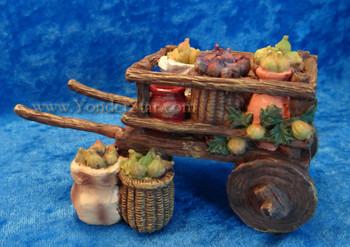 "Fig Cart - 5"" Fontanini Nativity Accessory 54319"
