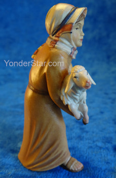Shepherd Boy w Lamb Venetian Nativity Italy