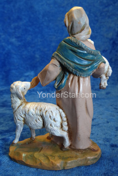 "Rhoda - 5"" Fontanini Nativity Shepherdess 54009"