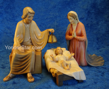 Venetian Nativity Holy Family Set
