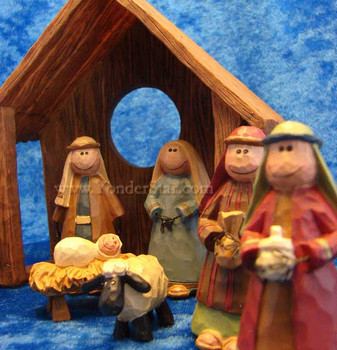 Bethlehem nativity creche.