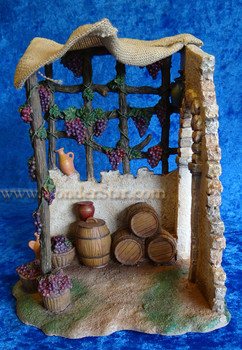 "Winemaker Shop - 7.5"" Fontanini Nativity Marketplace 54844"