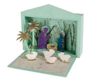 Paper nativity Philippines