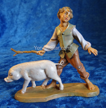 Fontanini Clement with Pig