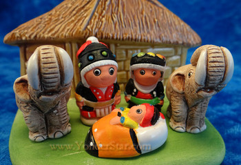 Thai nativity scene