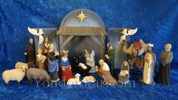 Henning nativity scene Norway