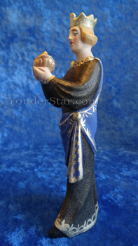 Norwegian hand-carved Wiseman