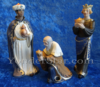 Henning nativity Wisemen Norway
