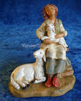 Nahome shepherd woman