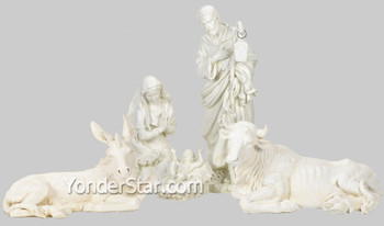Large outdoor nativity set