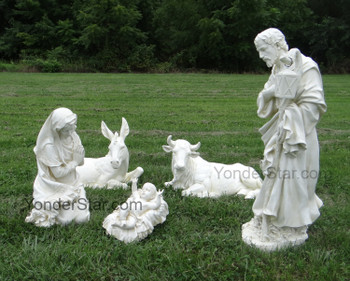 Outdoor Nativity Set Ivory Statues - Pre-order 2021