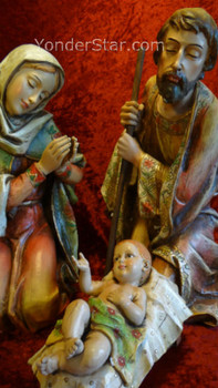 "13"" Joseph's Studio Holy Family 3 pc"
