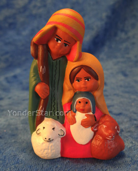 Tiny Peru nativity