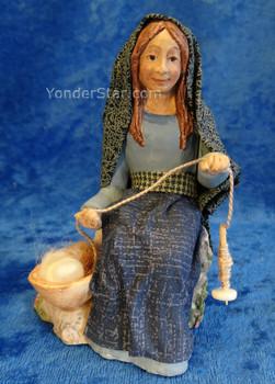 Akhati - Companions Nativity Weaver Woman