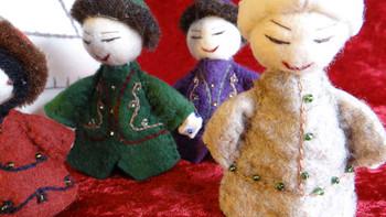 Kyrgyzstan nativity creche