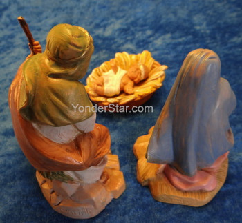 "Holy Family - 5"" Fontanini Nativity Set 51550"
