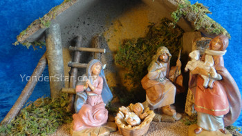 "Fontanini Nativity Set 5"" Figures 4 pc - 54423"