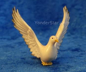 LEPI Venetian Nativity Dove w Wings Up