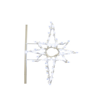 3' Bethlehem Star Pole Mount 47 LED C7Lt