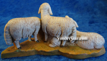 Fontanini nativity Herd of Sheep