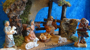 Fontanini nativity set 54426