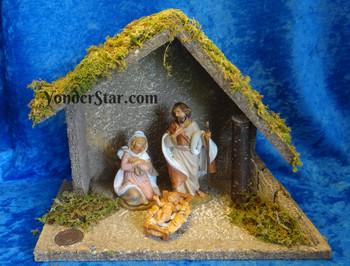 Small Fontanini nativity set