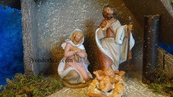 Small Fontanini nativity scene