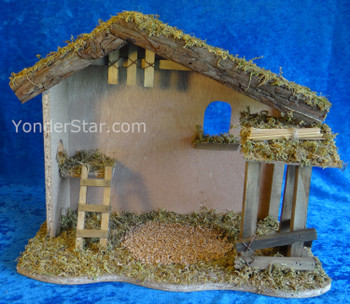 Fontanini nativity stable