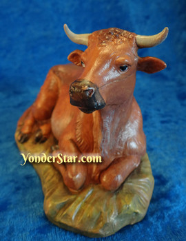 Fontanini nativity seated ox