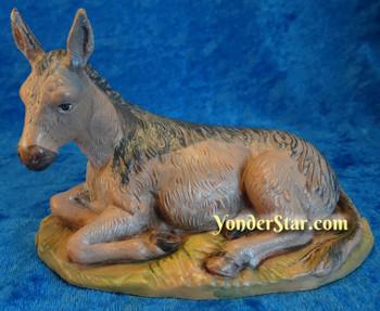 Seated Donkey Fontanini Nativity