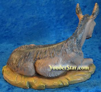 Resting donkey Fontanini nativity