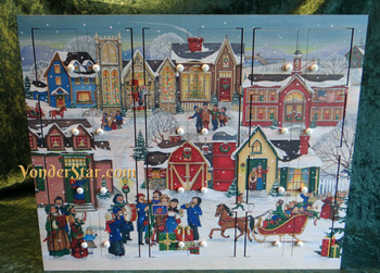 Victorian Wooden Advent Calendar