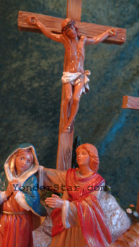 "Fontanini 5"" Scale Life of Christ Crucifixion Scene"