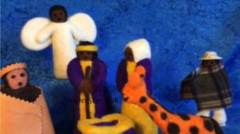 Lesotho Nativity Scene