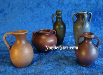 Water pots Fontanini nativity accessory