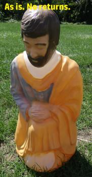 Life Size Nativity Kneeling Joseph - Scratch & Dent - ASF001