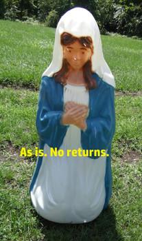 Life Size Nativity Kneeling Mary - Scratch & Dent - ASF008