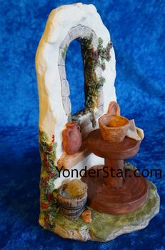 Hestia nativity pottery wheel