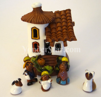 La Paz Bolivia Nativity Set