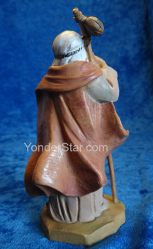 "Isaiah - 5"" Fontanini Nativity Shepherd with Staff  54010"